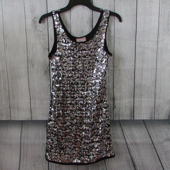 dc641140 Romeo & Juliet Couture Dresses   Romeo An Juliet Silver Sequin Dress ...